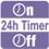 ПРОГРАММИРУЕМЫЙ 24-ЧАСОВОЙ ТАЙМЕР. После установки данного таймера кондиционер автоматически будет включаться и выключаться ежедневно.
